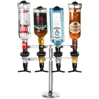 Click to view product details and reviews for Fixed Base 4 Bottle Pillar Stand Pillar Stand With 25ml Spirit Measures.
