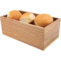 Acacia Wood Buffet Display Riser 32.5 x 18cm (Case of 8) - Wood Gifts