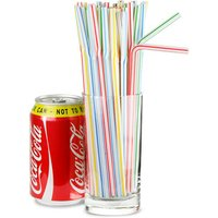 Bendy Straws 8inch Candy Stripe (40 Boxes of 250) - Candy Gifts