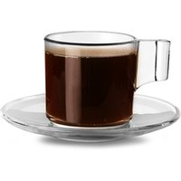 Indro Tazzina Coffee Cups & Saucers 3.3oz / 95ml (Pack of 6)