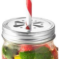 Kilner Drinking Jar Flower Lids (Pack of 6)