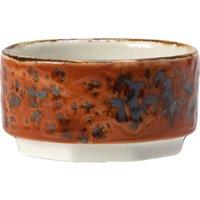 "Steelite Craft Taster Dip Pot Terracotta 2.5"" / 6.5cm (Set of 6) - Craft Gifts"