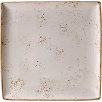 Steelite Craft Square Plate White 10.63andquot; / 27cm (Set of 6)