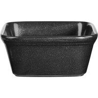 Churchill Cookware Square Pie Dish Black 4.75inch / 12cm (Single)