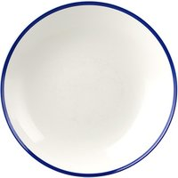 Churchill Retro Blue Coupe Bowl 9.8inch / 24.8cm (Case of 12) - Bowls Gifts