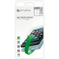 4smarts 360° Premium Protection Set Case Friendly Huawei P20 lite transparent