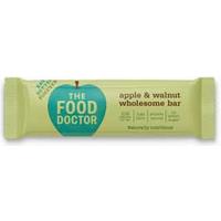 The Food Doctor Apple & Walnut Goodness Bar 40g