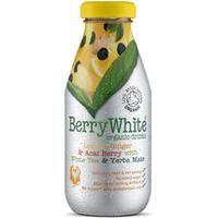 Berry White Organic Lemon, Ginger, Acai Berry with White Tea & Yerba Mate 330ml