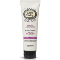 Roots & Wings Organic Lavender & Chamomile Hand Cream 125ml
