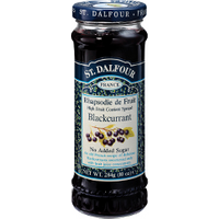 St Dalfour Blackcurrant Spread 284g