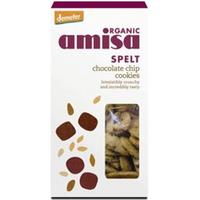Amisa Organic Spelt Chocolate Chip Cookies 150g