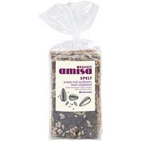 Amisa Organic Poppyseed Crispbread 200g