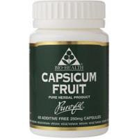 Bio-Health Capsicum Fruit Capsules 60 Caps