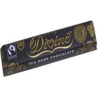 Divine Chocolate 70% Dark Chocolate 40g 40g