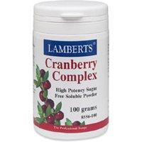 Lamberts Cranberry Complex Powder 100g Pdr