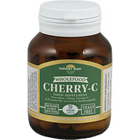 Natures Own Cherry C Wholefood Vitamin C 30 Vcaps