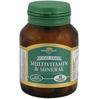 Nature's Own Multivitamin & Mineral (Euro Formula) 100 Vegetarian Tabs