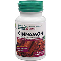 Natures Plus Herbal Actives Cinnamon 350 mg Vcaps 60 Vcaps