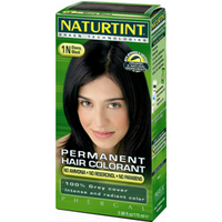 Naturtint Permanent Hair Colorant - 1N Ebony Black 160ml