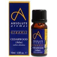 Absolute Aromas Organic Cedarwood Atlas Oil 10ml