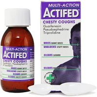 Actifed Multi-Action Chesty Coughs Liquid 100ml