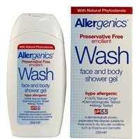 Allergenics Face & Body Shower Wash 200ml