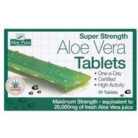 Aloe Pura Super Strength Aloe Vera Tablets 60 Tablets