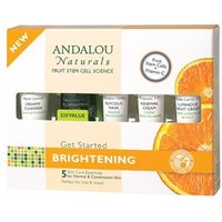 Andalou Naturals Get Started Brightening Kit 5 Pieces