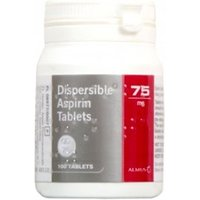 Dispersible Aspirin Tablets 75mg 100 tablets