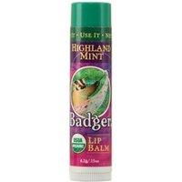 Badger Balm Highland Mint Lip Balm 4.2g / 0.15 oz