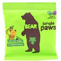 Bear Jungle Paws - Apple & Blackcurrant 20g