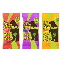 Bear Yo Yo's Super Sour Pure Fruit & Veg Blackcurrant & Apple