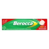 Berocca Mixed Berries Flavour Effervescent Tablets 15 tabs