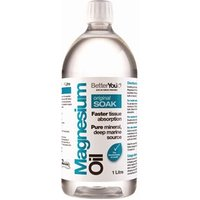 BetterYou Magnesium Oil Original Soak - 1 Litre 1Ltr
