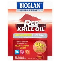 Bioglan Red Krill Oil Advanced Omega 3 30 capsule