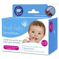 Brush-Baby Dental Wipes 28 wipes