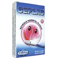 Ceplac Dental Disclosing Tablets 12 Tablets