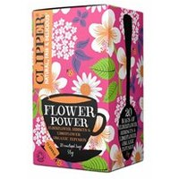 Clipper Flower Power Elderflower Hibiscus & Limeflower Tea 20 bags
