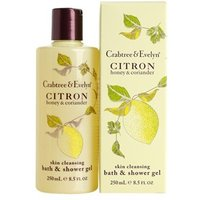 Crabtree & Evelyn Citron, Honey & Coriander Bath and Shower Gel 250ml