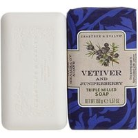 Crabtree & Evelyn Vetiver & Juniperberry Triple Milled Soap 158g