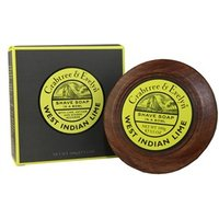 Crabtree & Evelyn West Indian Lime Shave Soap In A Bowl 100g