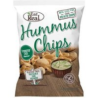 Eat Real Hummus Chips Creamy Dill Flavour 135g