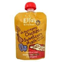 Ella's Kitchen Chicken + Sweetcorn Mash With Herb Sprinkles - Stage2 130g