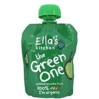 Ella's Kitchen The Green One Smoothie Fruit 90g