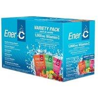 Ener-C 1000mg Vitamin C - Variety Pack 30 Sachets