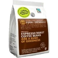 Equal Exchange Organic Fairtrade Espresso Coffee Beans 1000g 1000g