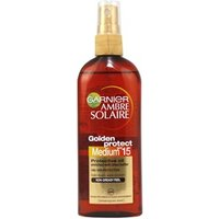 Garnier Ambre Solaire Golden Protect Oil Spf15 Spray 150ml