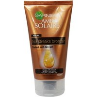 Garnier Ambre Solaire No Streaks Bronzer Tinted Self-tan Gel 150ml