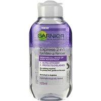 Garnier Express 2 In 1 Eye Make-up Remover 125ml