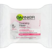 Garnier Good Bye Dry... Cleansing Wipes 25 Wipes